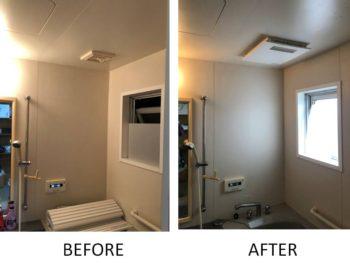 朝霞市K様 浴室暖房乾燥機設置工事
