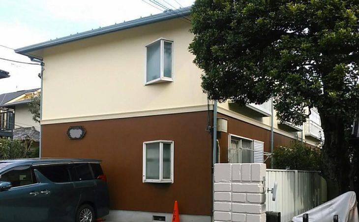 武蔵野市F様所有アパートS 屋根外壁塗り替え工事