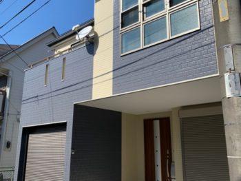 朝霞市O様邸 屋根外壁塗り替え工事