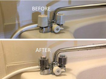 浴室水栓 水漏れ修理